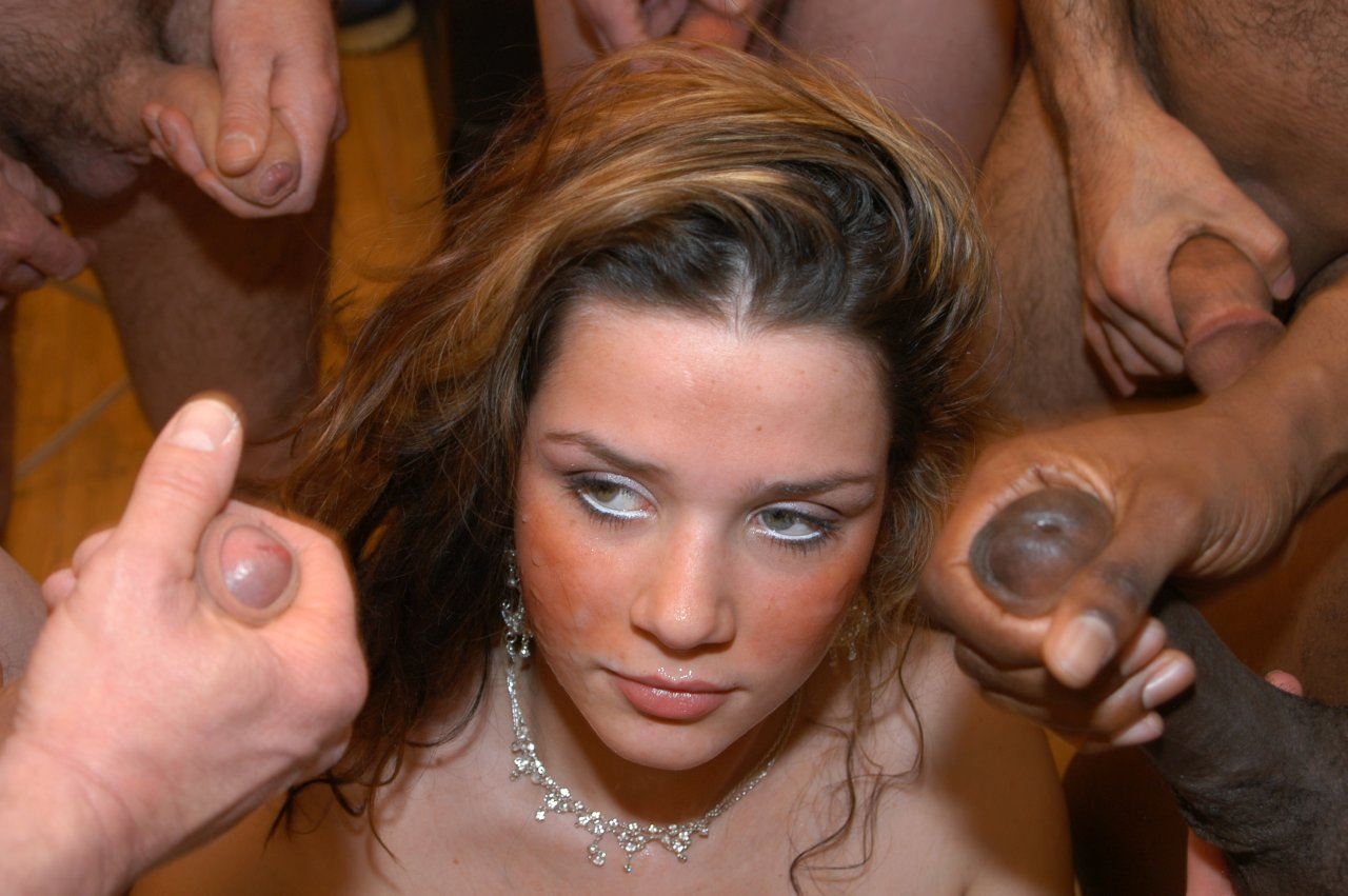Erotic girl with masturbating